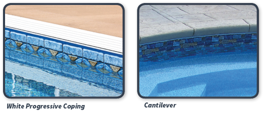 Cantilever Pool Coping for Pool Remodeling
