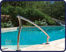 Swimming Pool Handrails for Pool Rennovations