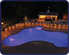 Pool Renovations - Pool Lighting