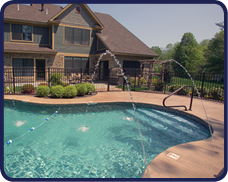 Pool Water Features for Pool Rebuilds and Rennovation