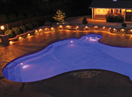 Generation Pools Family of Options - Inground Pool Lighting