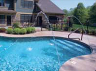 Water Features for Generation Inground Pool Packages