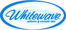 Whitewave Built-In Poolside Spas and Hot Tubs